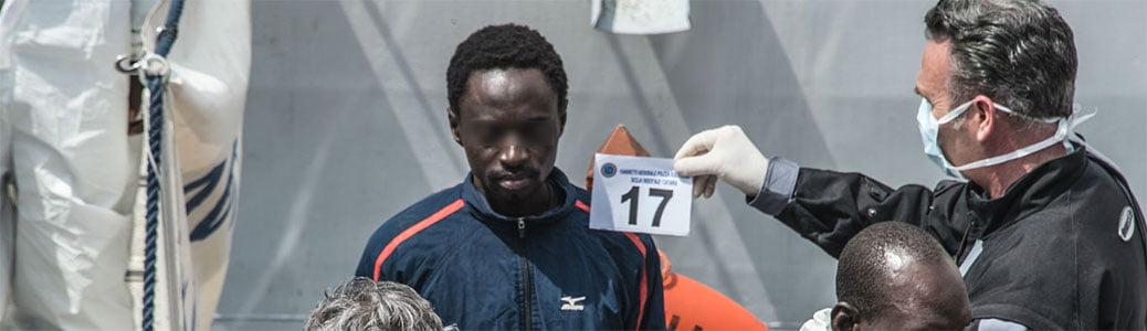 Migranti, identificazione, disagio mentale
