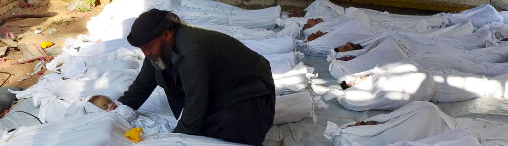 Guerra in Siria, armi chimiche