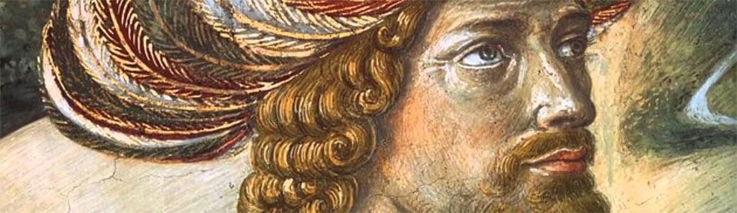 Benozzo Gozzoli, Cappella Medici, Firenze, particolare di Giovanni VIII Paleologo