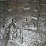 Luigi Secchi, L'ultima Comunione di Alessandro Manzoni, chiesa di San Fedele
