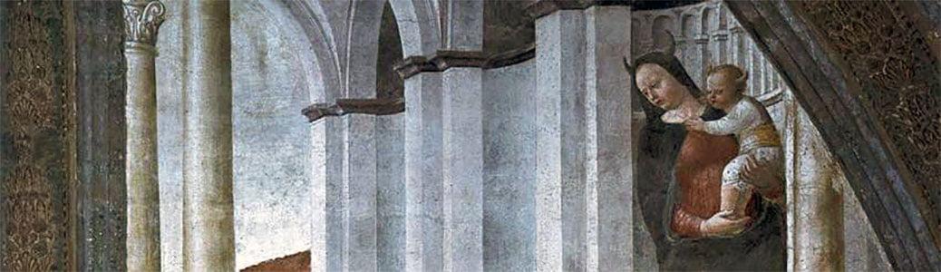Madonna con le corna, Vincenzo Foppa, Sant'Eustorgio, Pietro da Verona martire