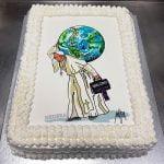 Torta di compleanno di papa Francesco, Hedera, Maupal