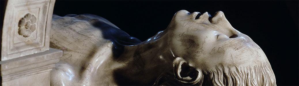 Tomba transi Luigi XII di Francia e Anna di Bretagna. Francesco e la morte