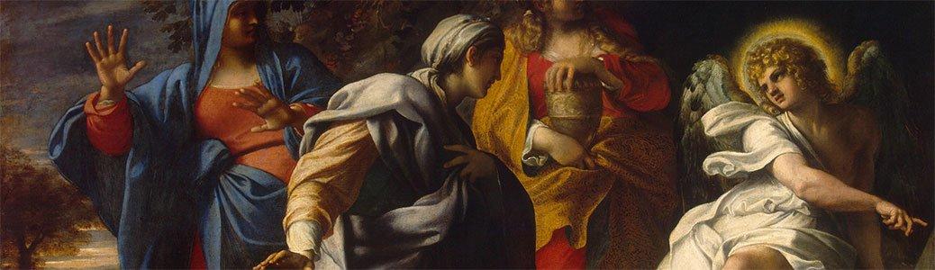 Annibale Carracci, Pie donne al sepolcro, Pasqua