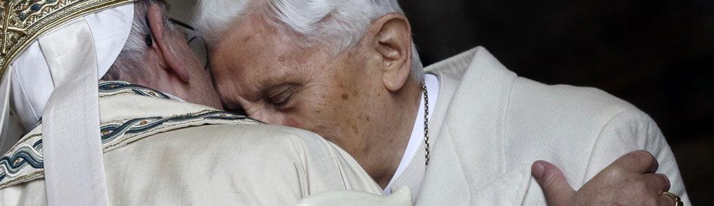 Benedetto XVI. Ciò che non potrei portare da solo