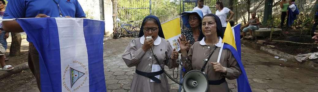 Nicaragua di Ortega, suore, proteste, Chiesa