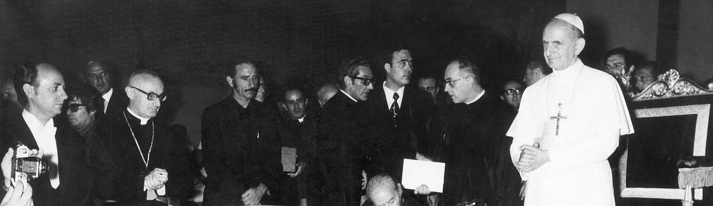 Paolo VI, Mario Riboldi, Rom