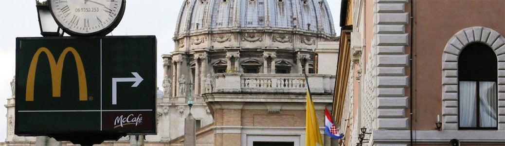 McJesus, McDonald's, Israele, Chiesa cattolica, Vaticano