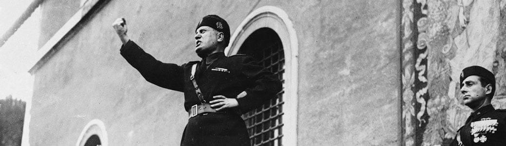 Benito Mussolini, Santuario Loreto