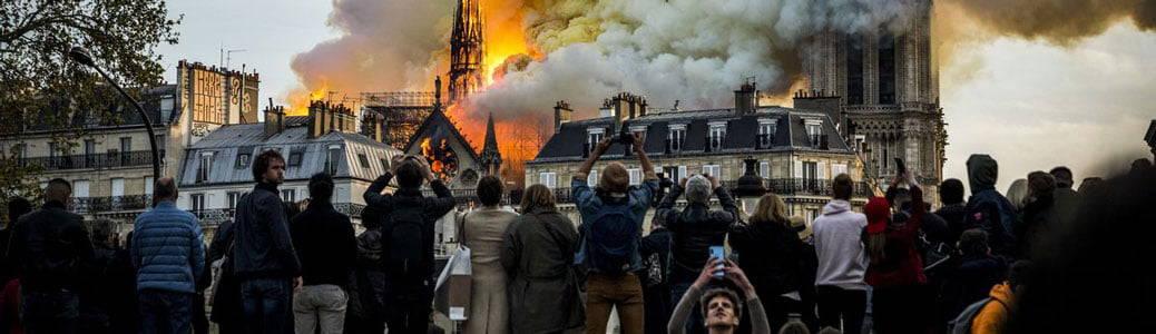 Notre-Dame, Parigi, incendio, persone