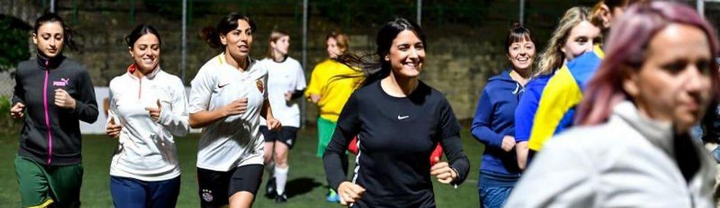 Squadra femminile calcio Vaticano