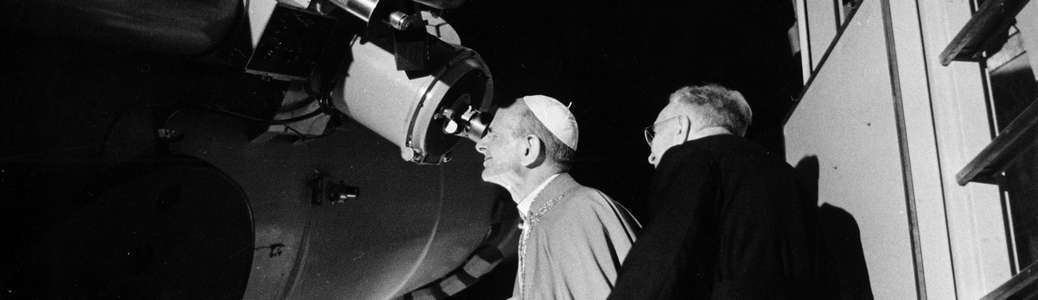 Paolo VI, Luna, telescopio, spazio