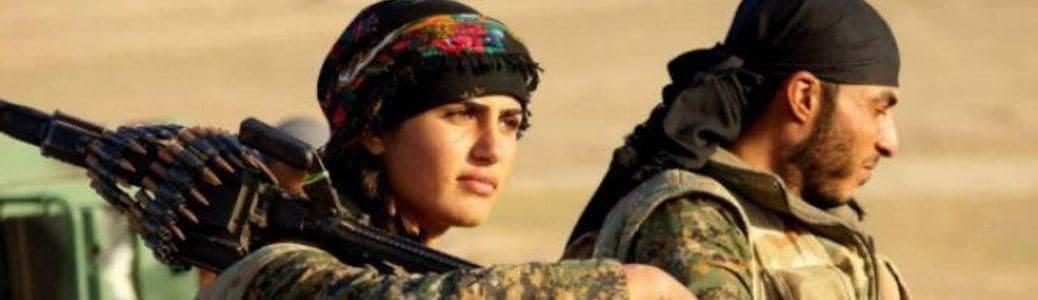 Donne curde Kobane