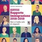 XXVIII Rapporto Immigrazione Caritas-Migrantes. Non si tratta solo di migranti (copertina)