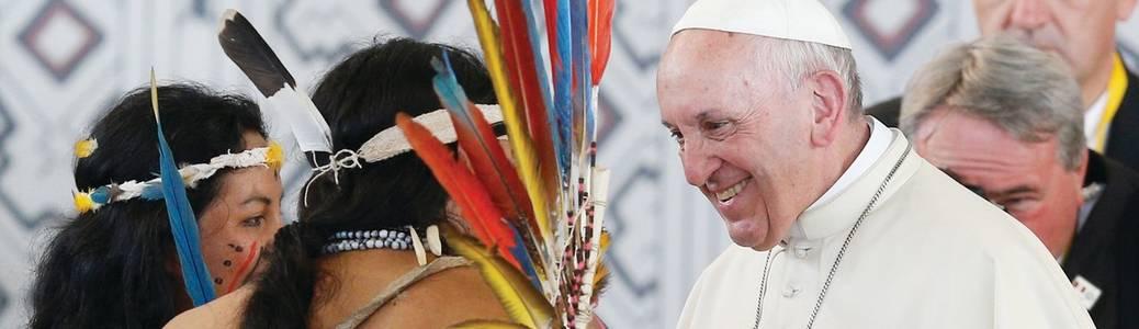 Papa Francesco Querida Amazonia