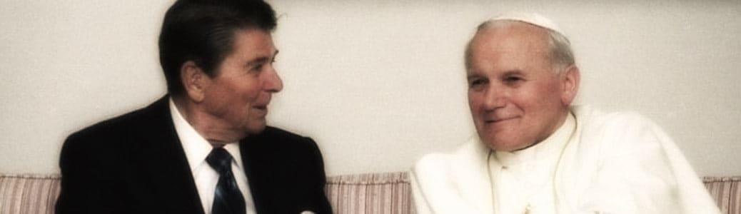 Papa Giovanni Paolo II, Ronald Reagan, conservatori