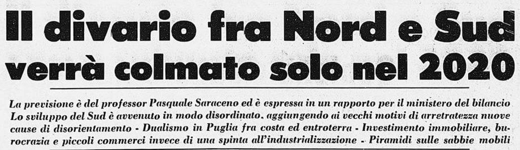 Corriere della Sera Divario Nord Sud Italia 2020 regioni Covid-19