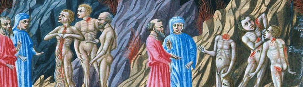 Dante Alighieri Divina Commedia Inferno scismi