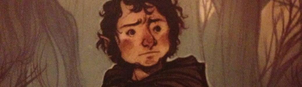 Frodo Baggins Signore Anelli Tolkien Vangelo