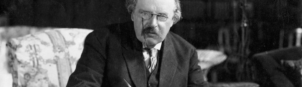 Gilbert Keith Chesterton, Vangelo