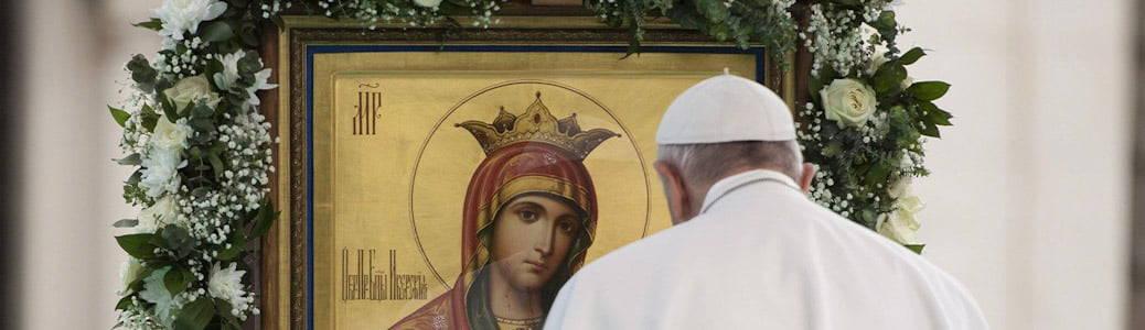 Papa Francesco, litanie lauretane, Maria