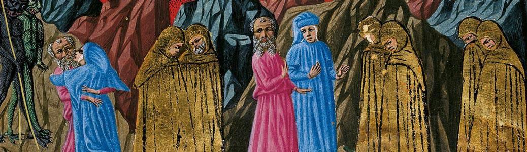 Dante Alighieri ipocriti Inferno Commedia