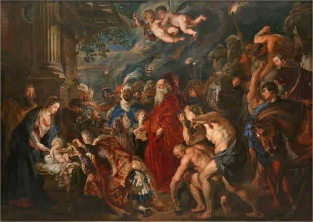 Pieter Paul Rubens, Adorazione dei Magi, 1609, olio su tela, Madrid (Spagna), Museo del Prado