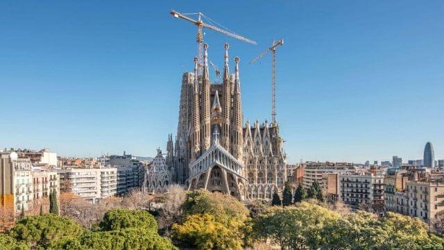 Antoni Gaudí, Sagrada Familia, dal 1883, Barcellona (Spagna)