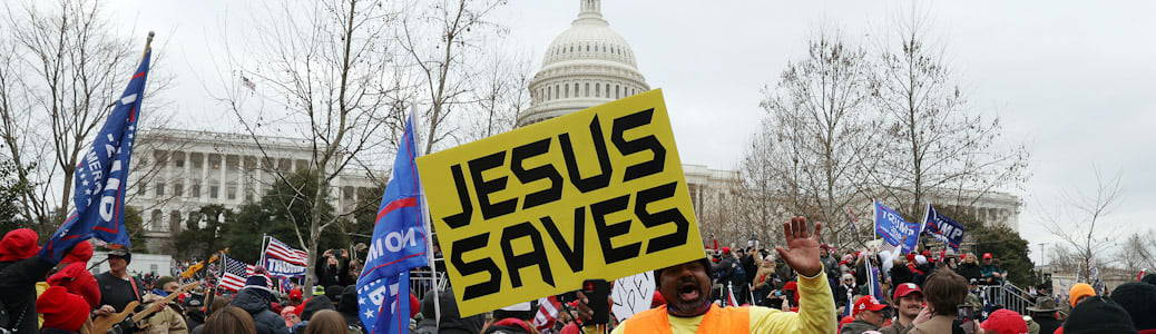 Washington Capitol Hill Jesus saves