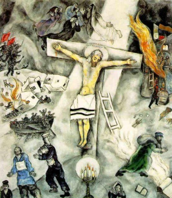 Marc Chagall, Crocifissione bianca