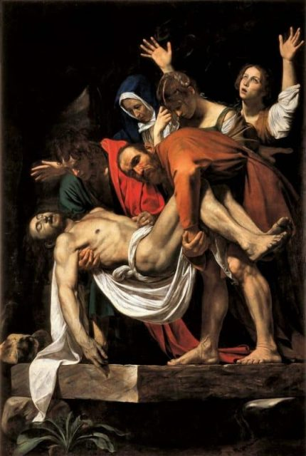 Caravaggio, Deposizione