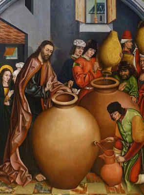 Fernando Gallego, Il cambiamento dell'acqua in vino