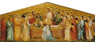 Giotto, Dormitio Virginis