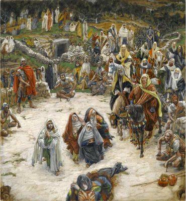 James Tissot, Quello che Nostro Signore ha visto sulla croce