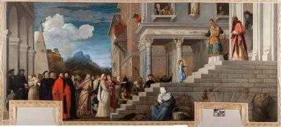 Tiziano, Presentazione di Maria al Tempio