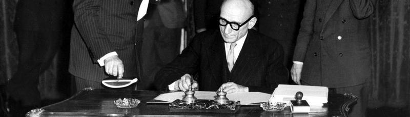 Robert Schuman, Dichiarazione Schuman, Europa